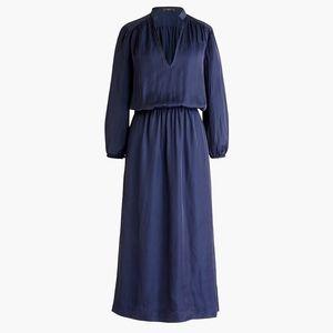 New JCREW Point Sur Drapey Cinched-waist Dress